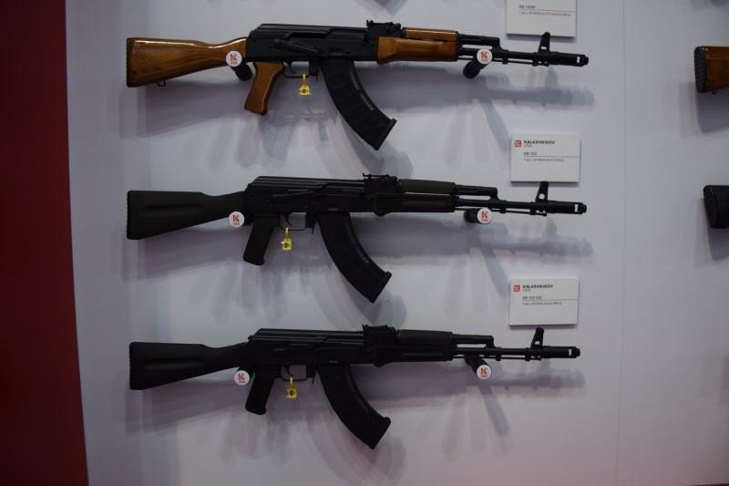 KR-103 rifles.