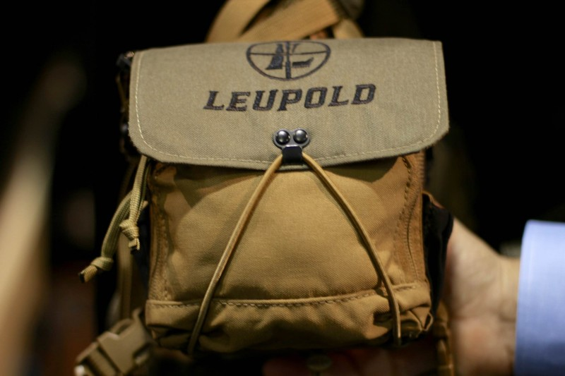 One of Leupold's new packs on display at their booth.