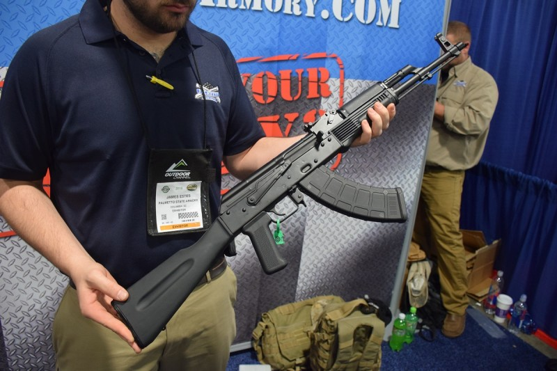 PSA's AK on display at SHOT 2015.