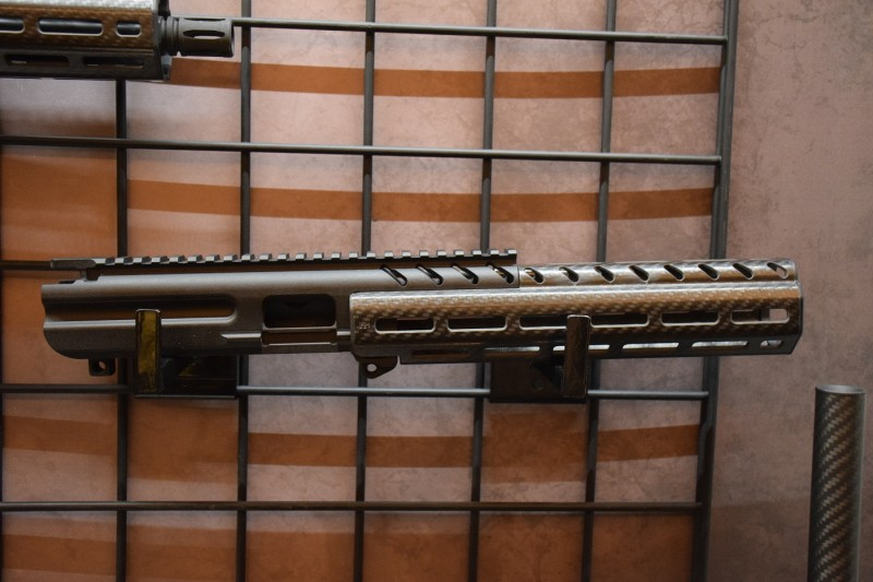 One of the longer MPX handguards.