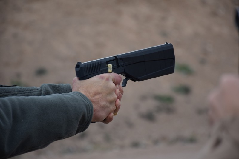 The Maxim 9 in action.