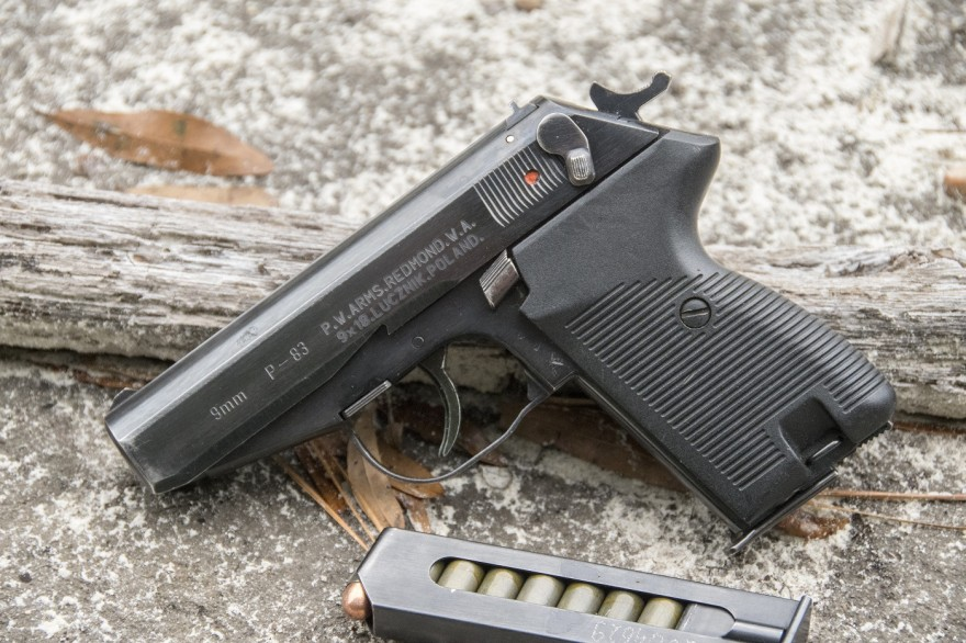 The p 83 wanad is a polish military sidearm that somewhat resembles