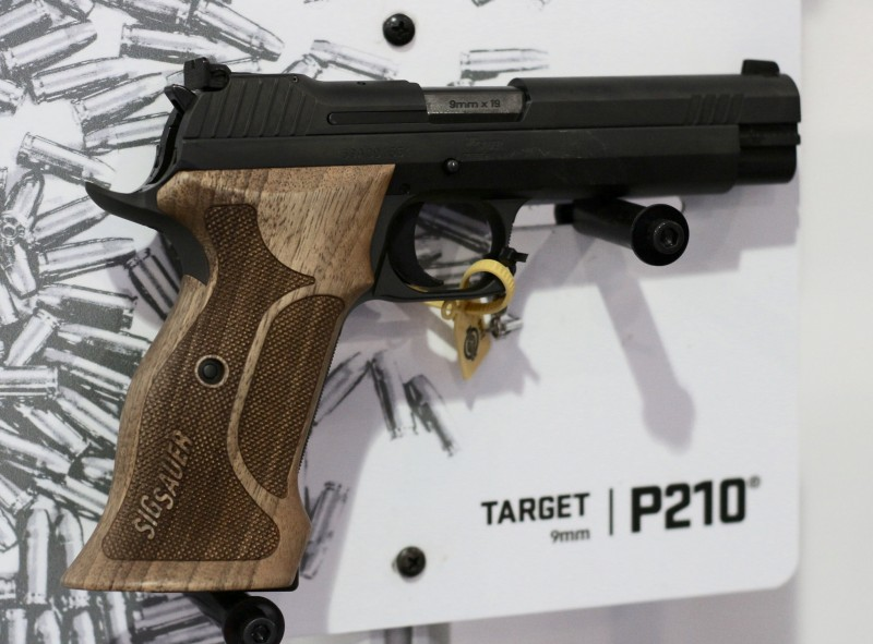 The P210 Target.