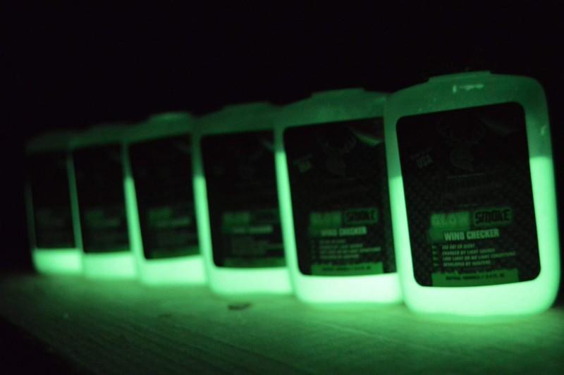 The Glow Smoke Wind Checker powder. Image courtesy of Glow Smoke.