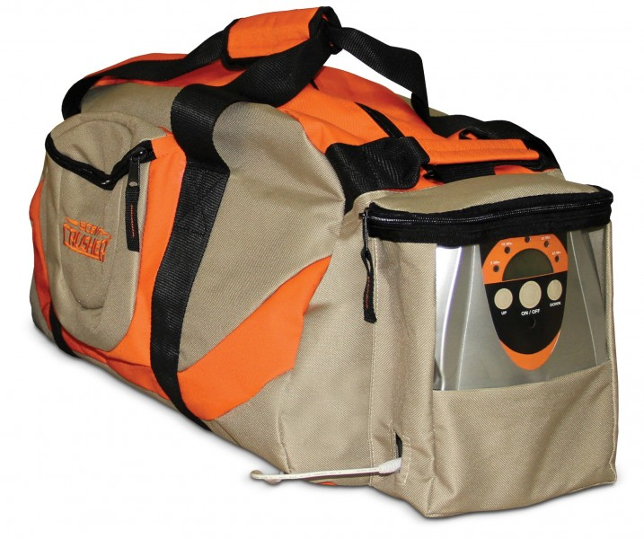 Scent Crusher's duffle bag. Image courtesy of Scent Crusher.