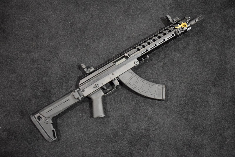 An M+M M10X SBR with a Zhukov stock.