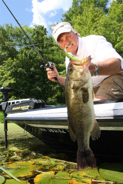 Scott Bonnema has proven that you do not have to live in the traditional bass fishing geography to make it as a bass pro. This Colorado angler has made a good living in fishing by understanding the sponsorship process. Photo courtesy of Scott Bonnema