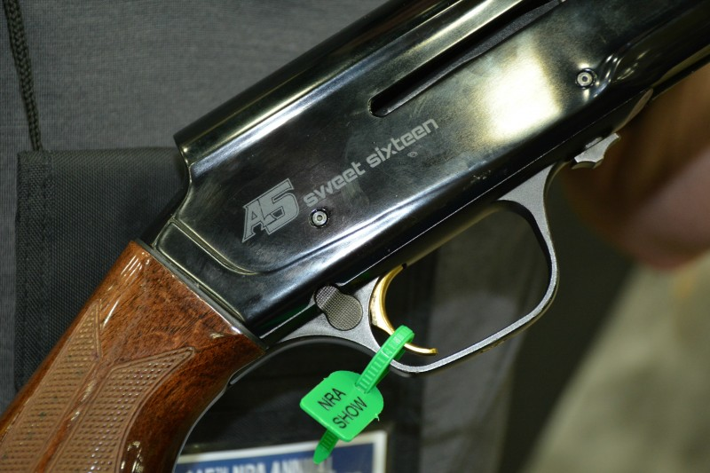 Don't like recoil? Then check out the new Browning Sweet Sixteen.