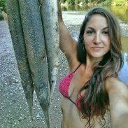 Beka Garris bowfishing 6-30-16