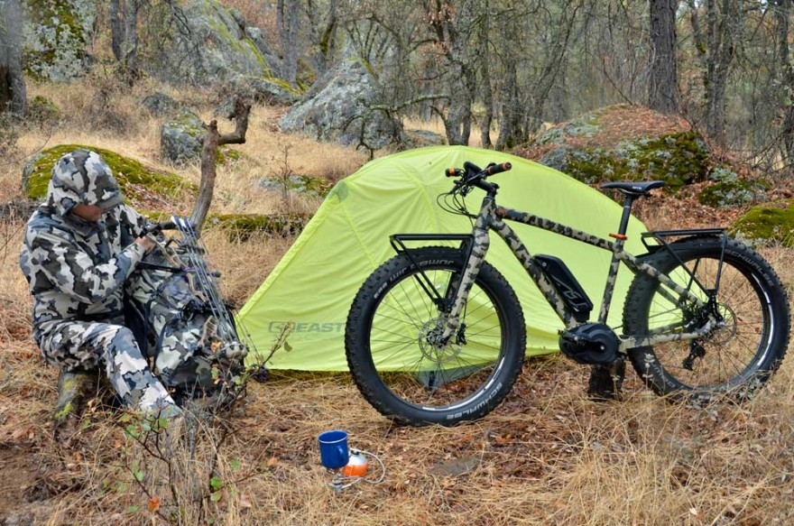 By now you have heard the talk. Are fat-tire bikes made for hunting the next big thing? Time will tell. (Photo courtesy FELT Bikes.)