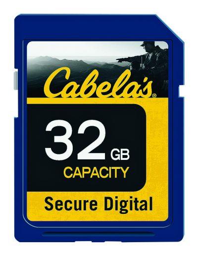 Cabela's SD Memory Card (3) 6-30-16