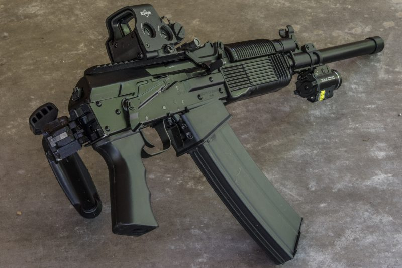 Shooters who want the fastest reloads possible should check out box magazine ­fed shotguns like this Russian Molot Vepr­12.