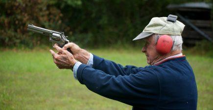 Deaf man shooting handgun 7-21-16