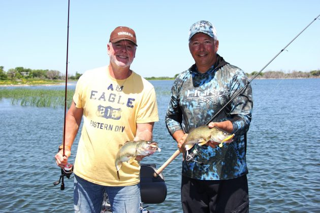 During summer, most walleye anglers are fishing the drop-offs and deep water. But good numbers of walleyes can be found in the right weeds, and they're up shallow for one reason – to eat!