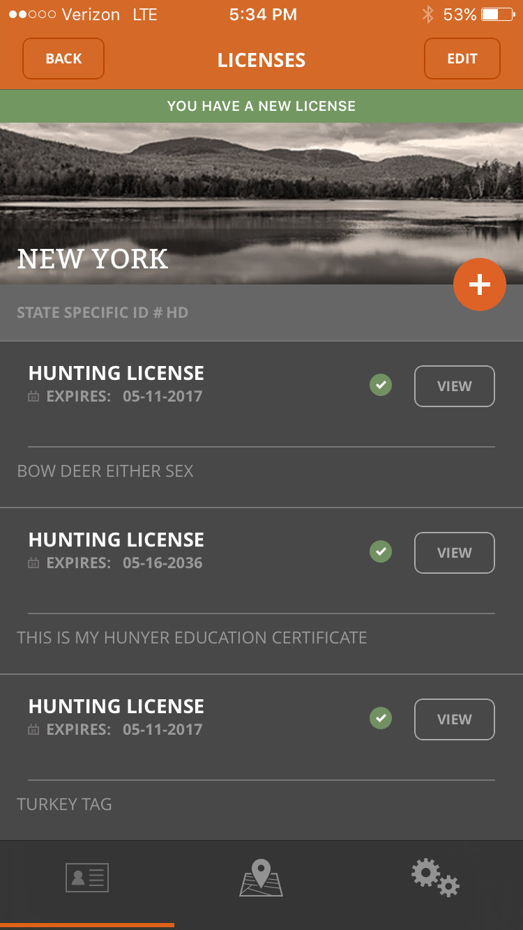 New app aims to change the way outdoorsmen buy and store for When does fishing license expire