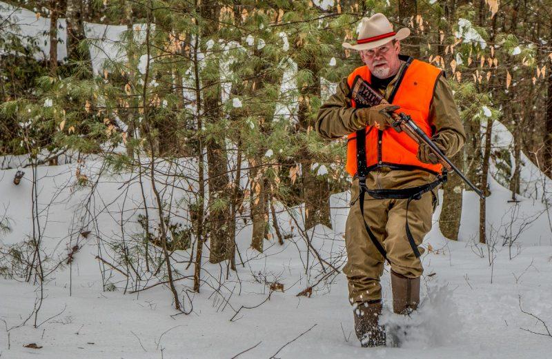 Richard Mann hunting