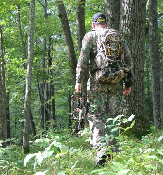 Early season hunting requires a sense of urgency and a willingness to hustle. When the conditions are right, drop everything and make your move.