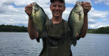 Camp Fish crappies 8-17-16