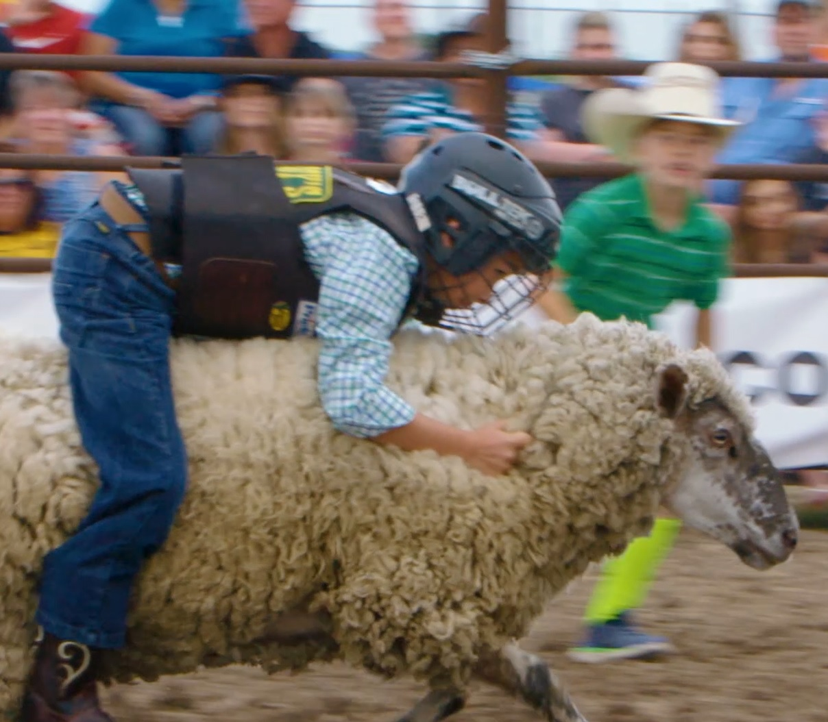 Must-See Video: Preschool For Bull Riders!