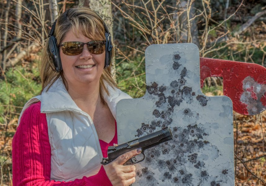 Whether you are shooting a handgun, rifle or shotgun, there is a steel target designed for that purpose, and many can be used for all three.
