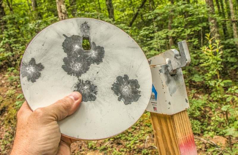 MGM's 8-inch Steel Challenge Plate is affordable and easy to pack around. It's ideal as a rifle, handgun or shotgun target.