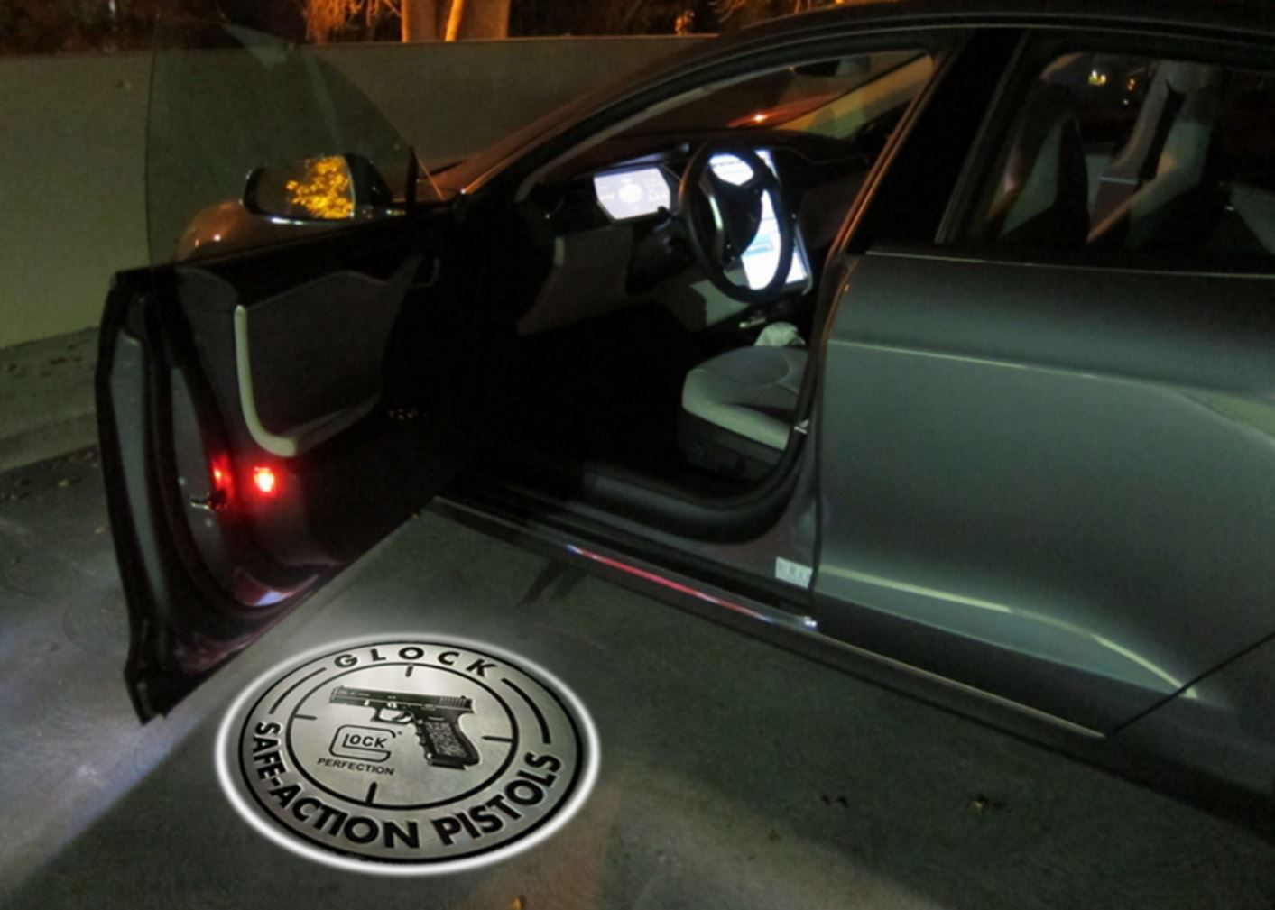 Vehicle Door Welcome Lights Are Perfect For Your Truck