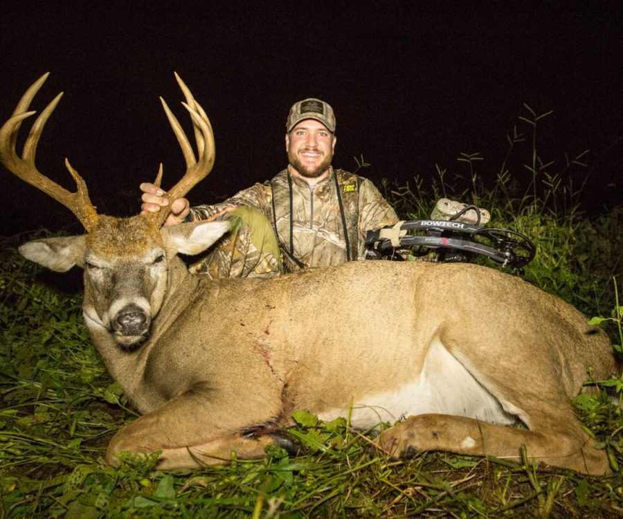 Giant 7-year-old buck