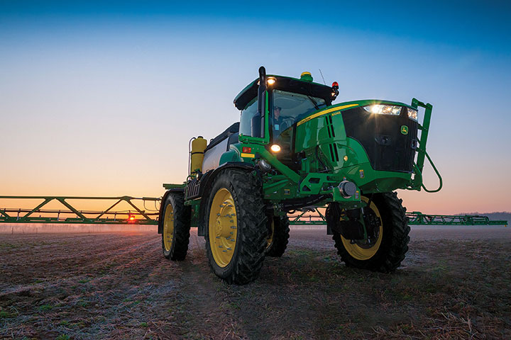 Field sprayer image courtesy of John Deere.