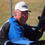 Man smiling on gun range 9-23-16