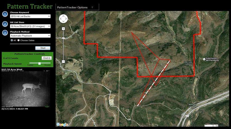 Map of buck range 2