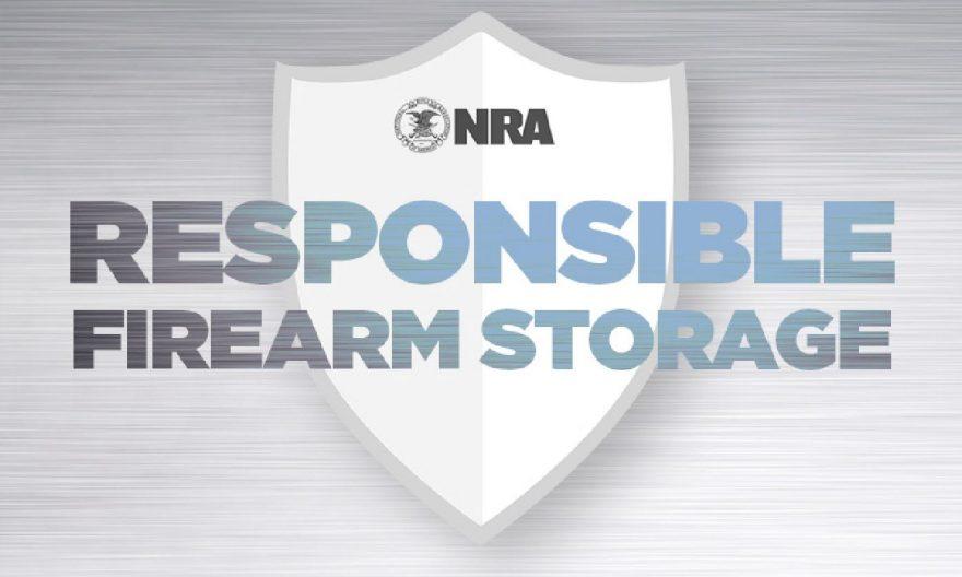 Safe firearm storage