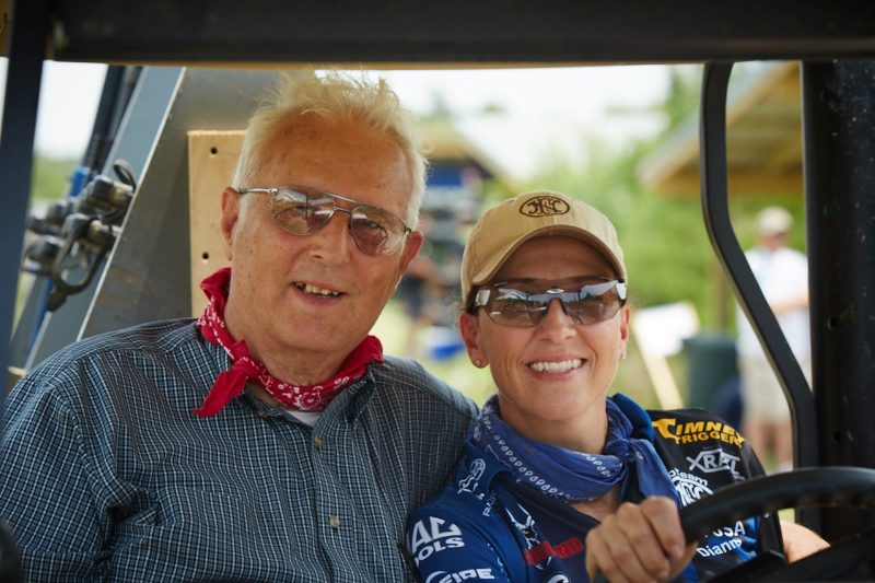 Dianna credits her father for her life-long love of firearms and shooting.
