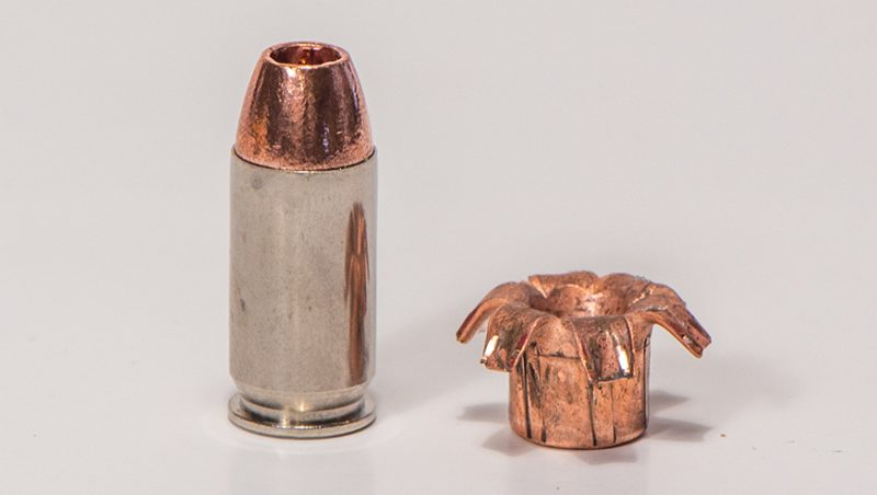Barnes TAC-XP bullets aren't bonded but perform very similarly to bonded bullets because they have no core that can separate.