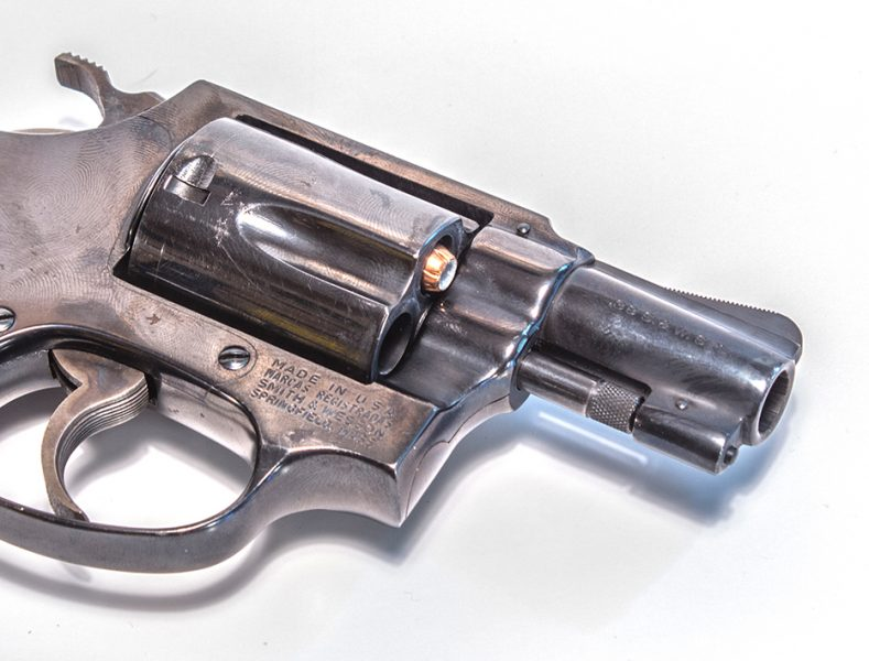 Even revolvers can jam. Most often this is an ammo problem, where the bullet sets out due to recoil.