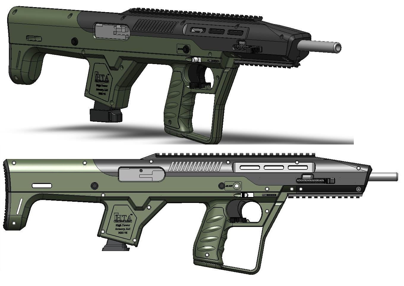 High tower armory announces new bullpup conversion kit for for High pointe