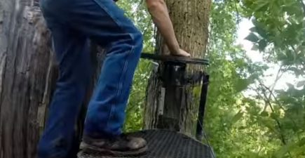 Kid Falls From Treestand Lucky Not Paralyzed
