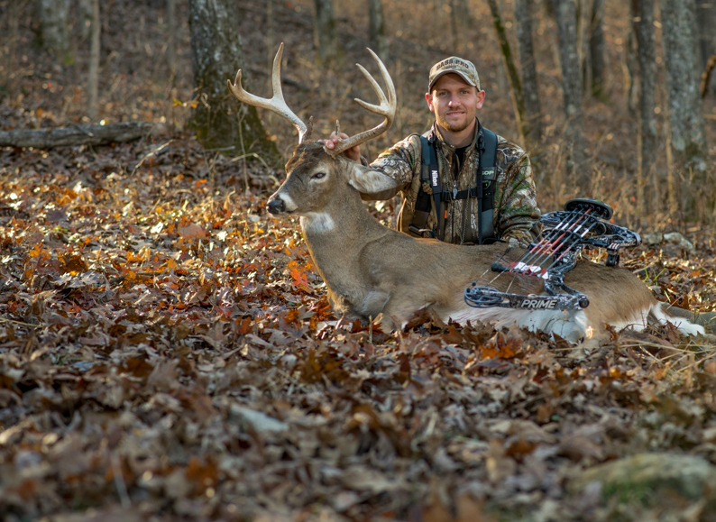 Growing Deer's Matt Dye tagged this mature Missouri buck in 2015 by carefully using scrapes as an indicator of rutting activity.