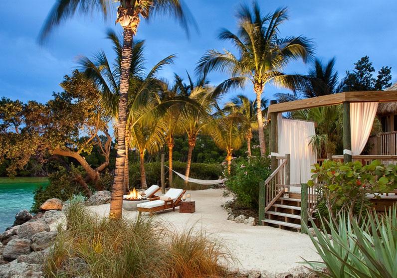 A suite at Little Palm.
