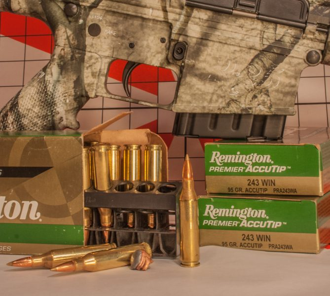 The .243 Winchester isn't intended to be used only by ladies and kids. It is a fully capable big-game cartridge for anyone, regardless of their age or size.