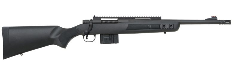 The Mossberg MVP is the most affordable commercial Scout Rifle. It is reliable, accurate and very compact.