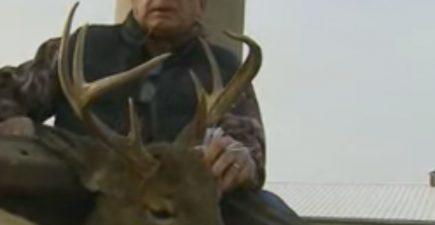 8-point buck turns out to be doe with antlers