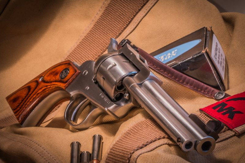 Ruger's Single Seven is chambered for the .327 Federal Magnum, but it will reliably chamber and fire four other cartridges.