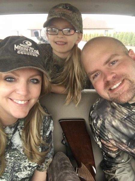 The family that hunts together . . .