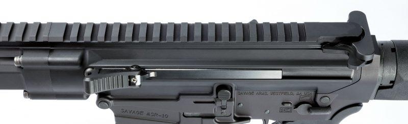 Side charging handle on the MSR 10 Long Range