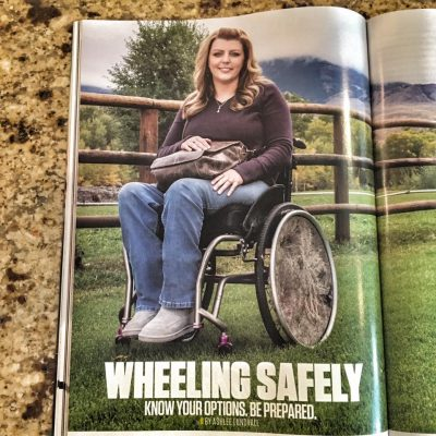 Ashlee's article in Concealed Carry Magazine.