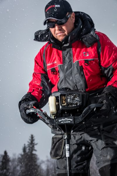 Wearing a personal flotation device (i.e. life jacket) over bulky winter clothes can be cumbersome, and that's where a modern ice suit excels. It fits like a traditional winter parka/bib combo, but with the additional benefit of life-saving flotation.