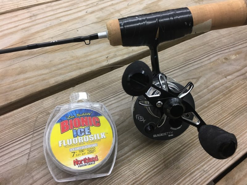 13-fishing-black-betty-with-northland-fluorosilk-line