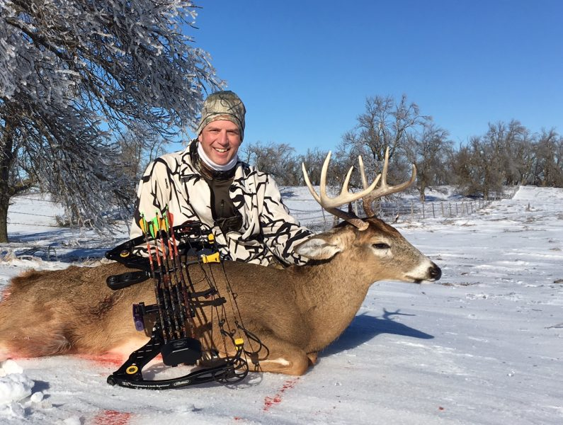After a winter storm blanketed the landscape with a heavy layer of ice, the author found success on this fine 5x4.