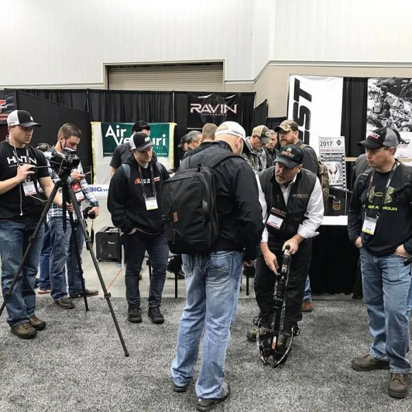Ravin Crossbows drew a lot of attention at the 2017 ATA Show.