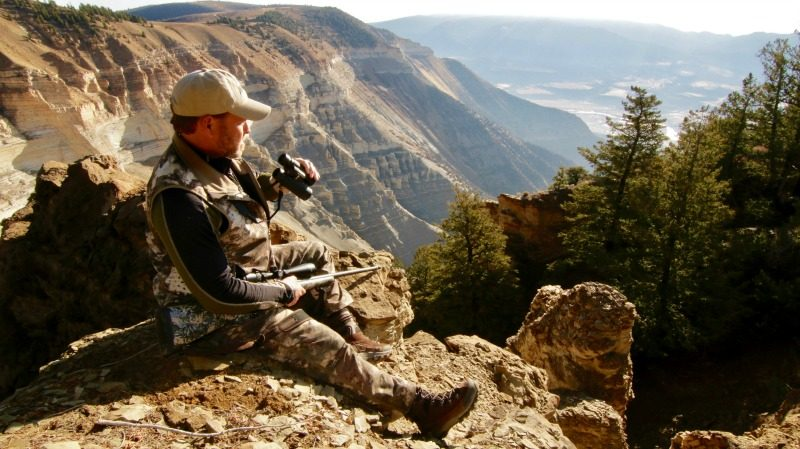The author carried a Gunwerks 7mm rifle topped with a Nikon Monarch 5 scope on his Colorado elk hunt.